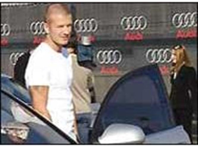 David Beckham yine yakalandı